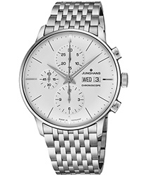 Junghans Meister Chronoscope  Men's Watch Model 027/4121.45