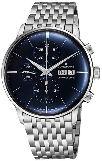 1c1f8899c142f Junghans Meister Chronoscope Men s Watch Model  027 4528.45