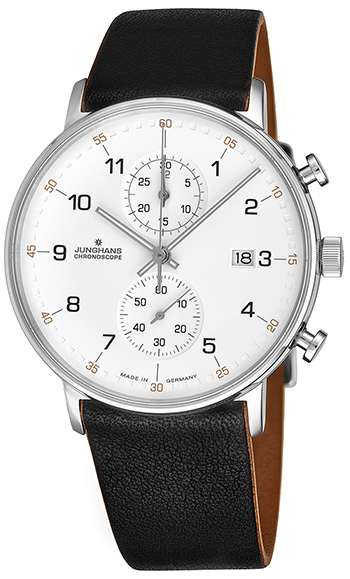 Junghans Form C Chronoscope Men's Watch Model 041/4771.00