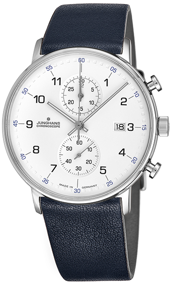 Junghans Form C Chronoscope Men's Watch Model 041/4775.00