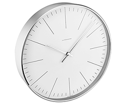 Junghans Max Bill Clock Model 367/6046.00