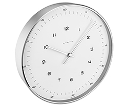 Junghans Max Bill Clock Model 367/6047.00