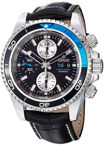 Kadloo Ocean Chrono Mens Wristwatch Model: 80221TQ
