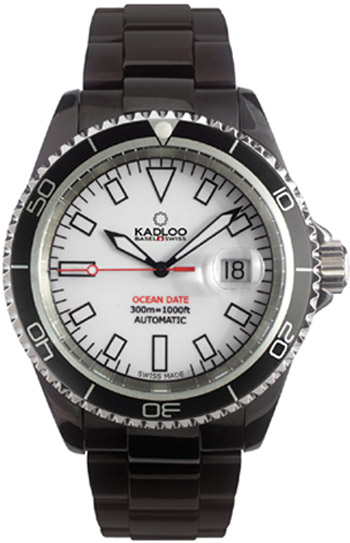 Kadloo Ocean Date Mens Wristwatch Model: 80810WH