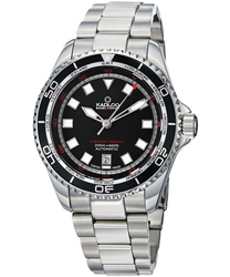 Kadloo Vintage Trophy GMT Time Zone Men's Watch Model 86220BK