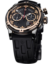 Louis Moinet Jules Verne Instrument III Chronograph Men's Watch Model LMV.30.40.55R