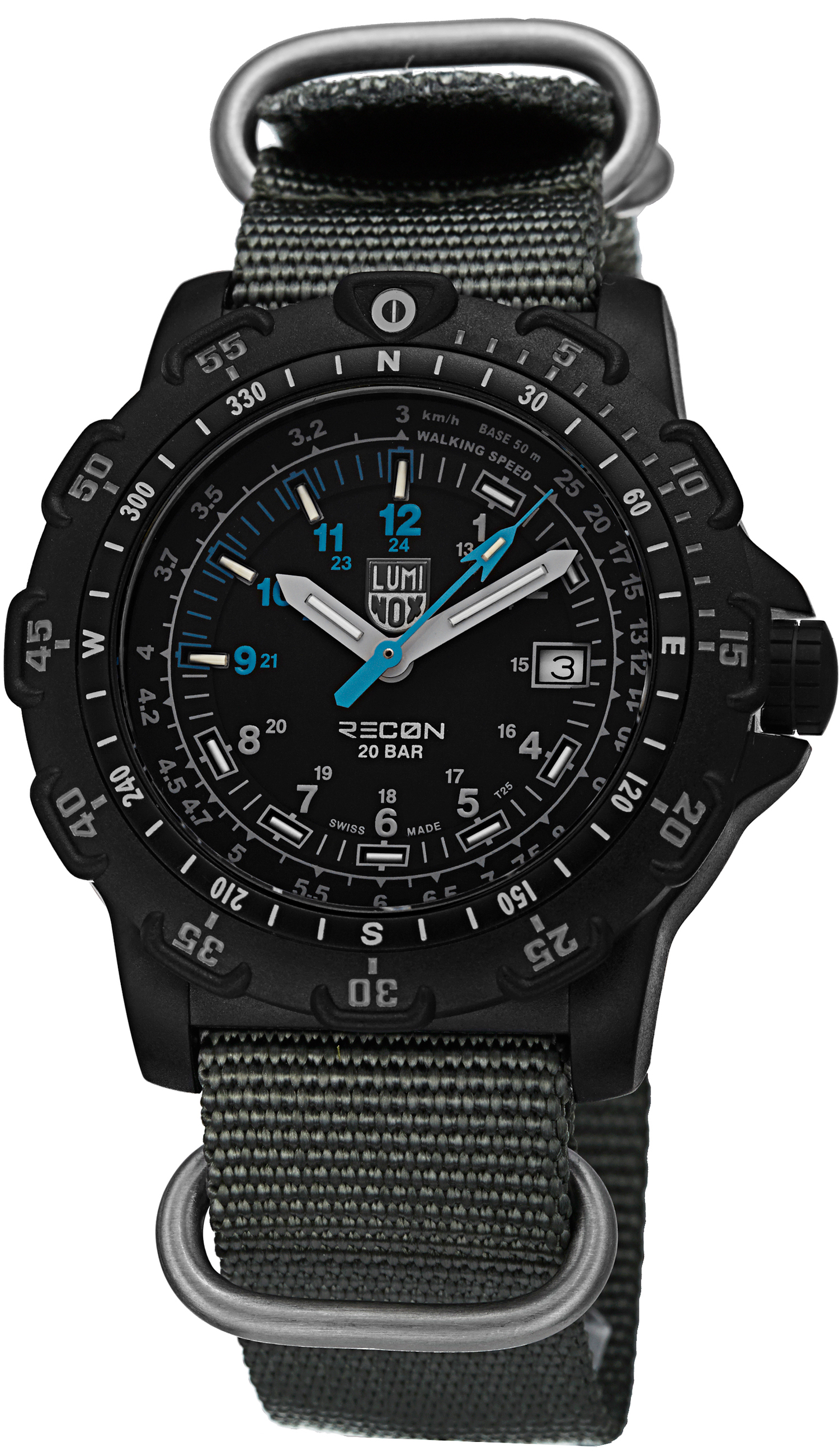 watch watches s km men navigation zm compass a recon model luminox specialist