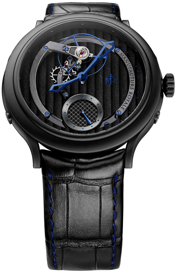 Manufacture Royale 1770 Voltige Black Feather Men's Watch Model 1770VT45.04.CDG Thumbnail 2