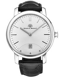 Martin Braun Classic Men's Watch Model CLASSIC SIL