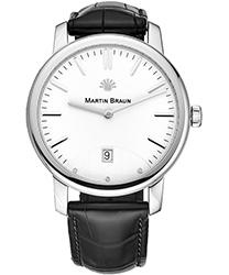 Martin Braun Classic Men's Watch Model CLASSIC WHT
