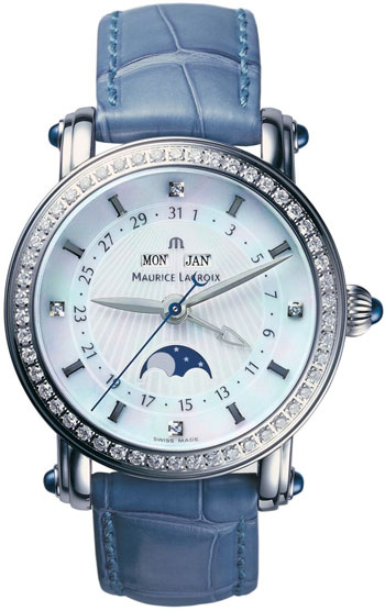 Maurice Lacroix Masterpiece Ladies Watch Model MP6066-SD501-17E-BL