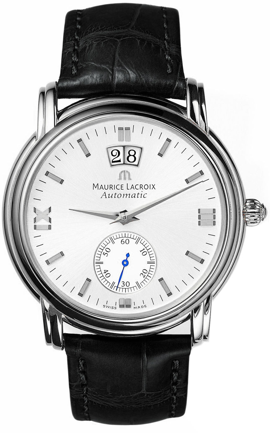 Maurice lacroix masterpiece grand guichet men 39 s watch model mp6378 ss001 290 for Maurice lacroix watches