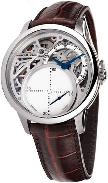 Maurice Lacroix Masterpiece Seconde Mysterieuse Men s Watch Model  MP6558-SS001-090 8a21a2494c