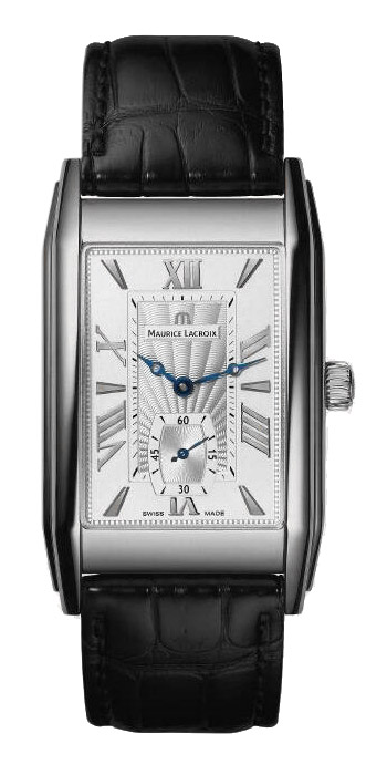 Maurice Lacroix Rectangulaire Petite Seconde Mens Wristwatch Model: MP7009-SS001-110