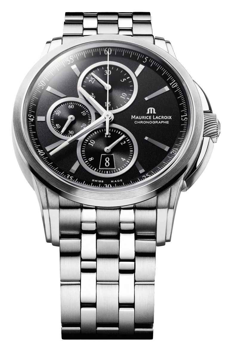 Maurice lacroix pontos chronograph men 39 s watch model pt6188 ss002 330 for Maurice lacroix watches