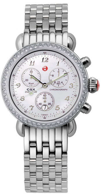 Michele Watch Csx 36 Diamond Ladies Watch Model Mww03c000013