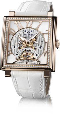 Milus Herios TriRetrograde Seconds Ladies Watch Model HERT405