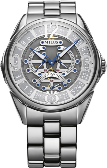 Milus Tirion TriRetrograde Seconds Men's Watch Model TIRI007