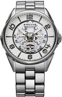 Milus Tirion TriRetrograde Seconds Men's Watch Model TIRI015