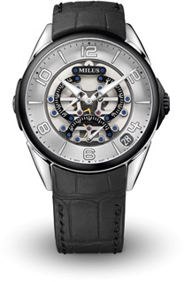 Milus Tirion TriRetrograde Seconds Men's Watch Model TIRI018