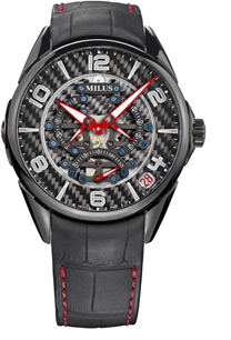 Milus Tirion TriRetrograde Seconds Men's Watch Model: TIRI200