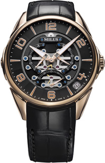 Milus Tirion TriRetrograde Seconds Men's Watch Model TIRI402