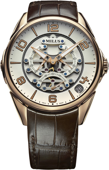 Milus Tirion TriRetrograde Seconds Men's Watch Model TIRI403