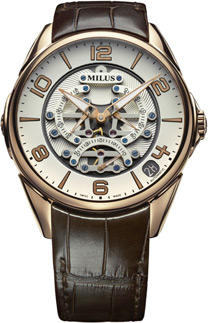 Milus Tirion TriRetrograde Seconds Men's Watch Model: TIRI403