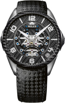 Milus Tirion TriRetrograde Seconds Men's Watch Model TIRI702