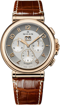 Milus Zetios Men's Watch Model ZETC401F