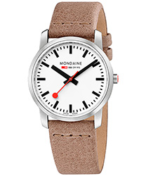 Mondaine Simply Elegant Unisex Watch Model A400.30351.16SBG