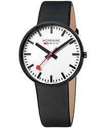 Mondaine Giant Black And White Men's Watch Model: A660.30328.61SBB