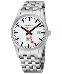 Mondaine Retro Date Men's Watch Model A6673034016SBM