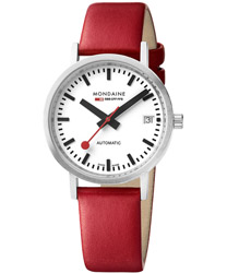 Mondaine Classic Automatic Ladies Watch Model: A128.30008.16SBC