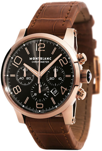 montblanc timewalker men u0026 39 s watch model  101565