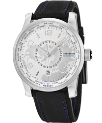 Montblanc Timewalker World-Time Hemispheres Men's Watch Model: 108955