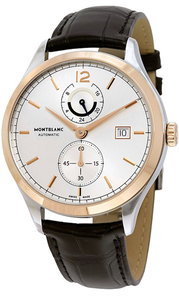 Montblanc Heritage Chronometrie Dual Time Men's Watch Model 112541