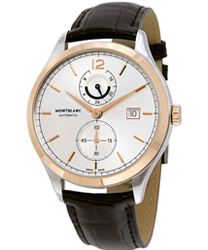 Montblanc Heritage Chronometrie Dual Time Men's Watch Model: 112541