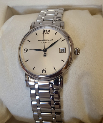 Montblanc Star Clasique Ladies Watch Model 111591 Thumbnail 3