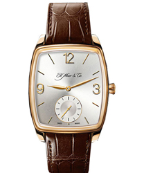 H. Moser & Cie Henry Double Hairspring Men's Watch Model 324.607-004