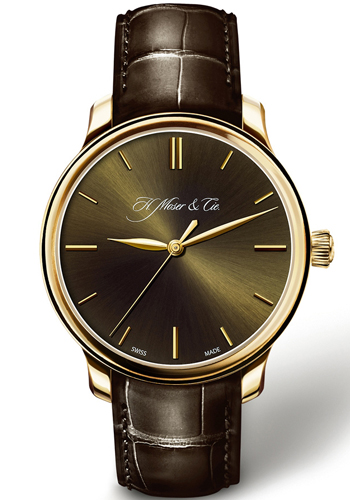 H. Moser & Cie Endeavour Men's Watch Model 343.505-018