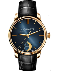 Moser Perpetual Moon Mens Wristwatch