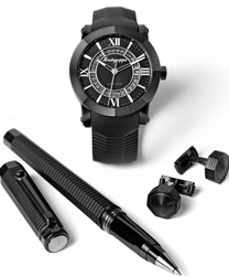 Montegrappa Nero Uno Limited Edition Set Men's Watch Model IDNLWSBK