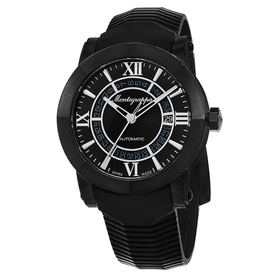 Montegrappa Nero Uno Limited Edition Set Men's Watch Model IDNLWSBK Thumbnail 3