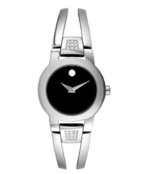 Movado Diamond Amorosa Ladies Watch Model: 0604982
