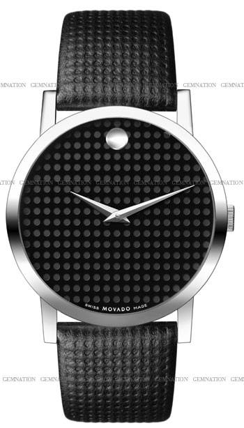 Movado Monogram Mens Wristwatch Model: 0606018
