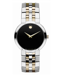 Movado Faceto Mens Wristwatch