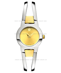 Movado Amorosa Ladies Watch Model: 0606162