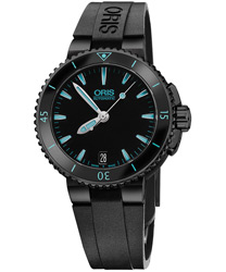 Oris Aquis Ladies Watch Model 01 733 7652 4725-07 4 18 34B