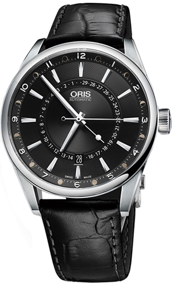 Oris Artix Pointer Date Moon Men's Watch Model 01 761 7691 4054-07 5 21 81FC